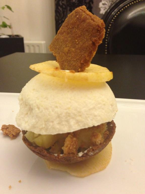 Pomme au crumble Yohann Chapuis (2)
