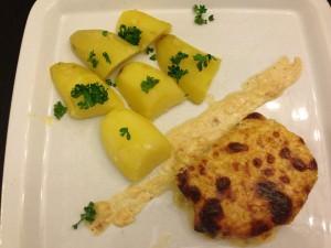 Cotes de porc gratinees à la moutarde (2)