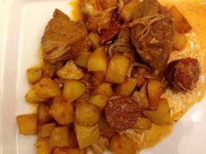Sauté de porc à la portugaise (1)