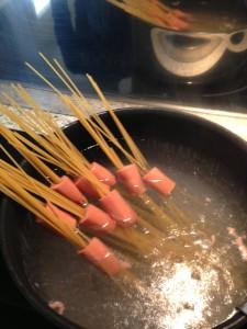 Spaghetti knacki