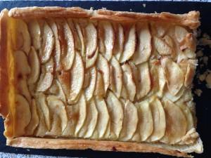 Tarte aux pommes amandine (1)