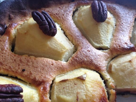 Tarte poires et chocolat (3)