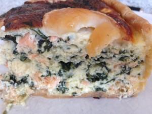 quiche saumon épinards