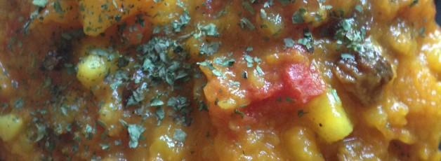 curry pomme de terre