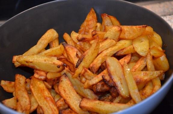 Frites maison au four sevencuisine - Frites pour friteuse au four ...