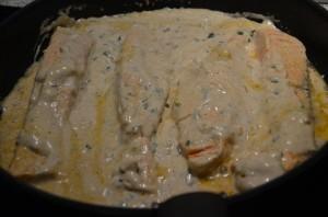 pavées de saumon tandoori massala