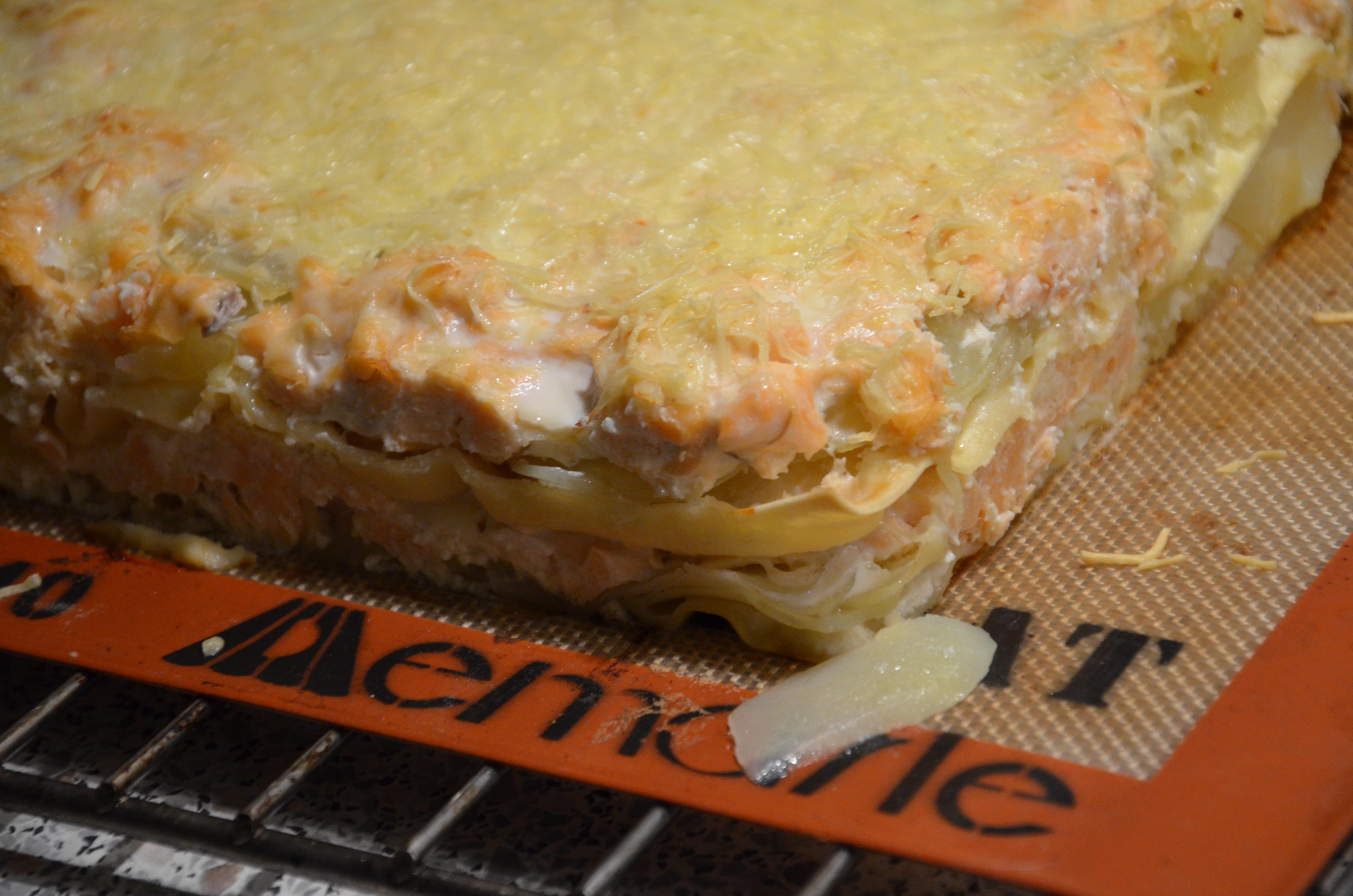 lasagnes saumon et pomme de terre sevencuisine