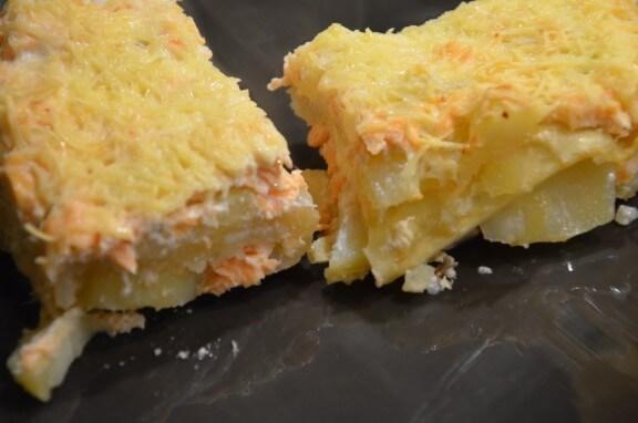 lasagnes saumon