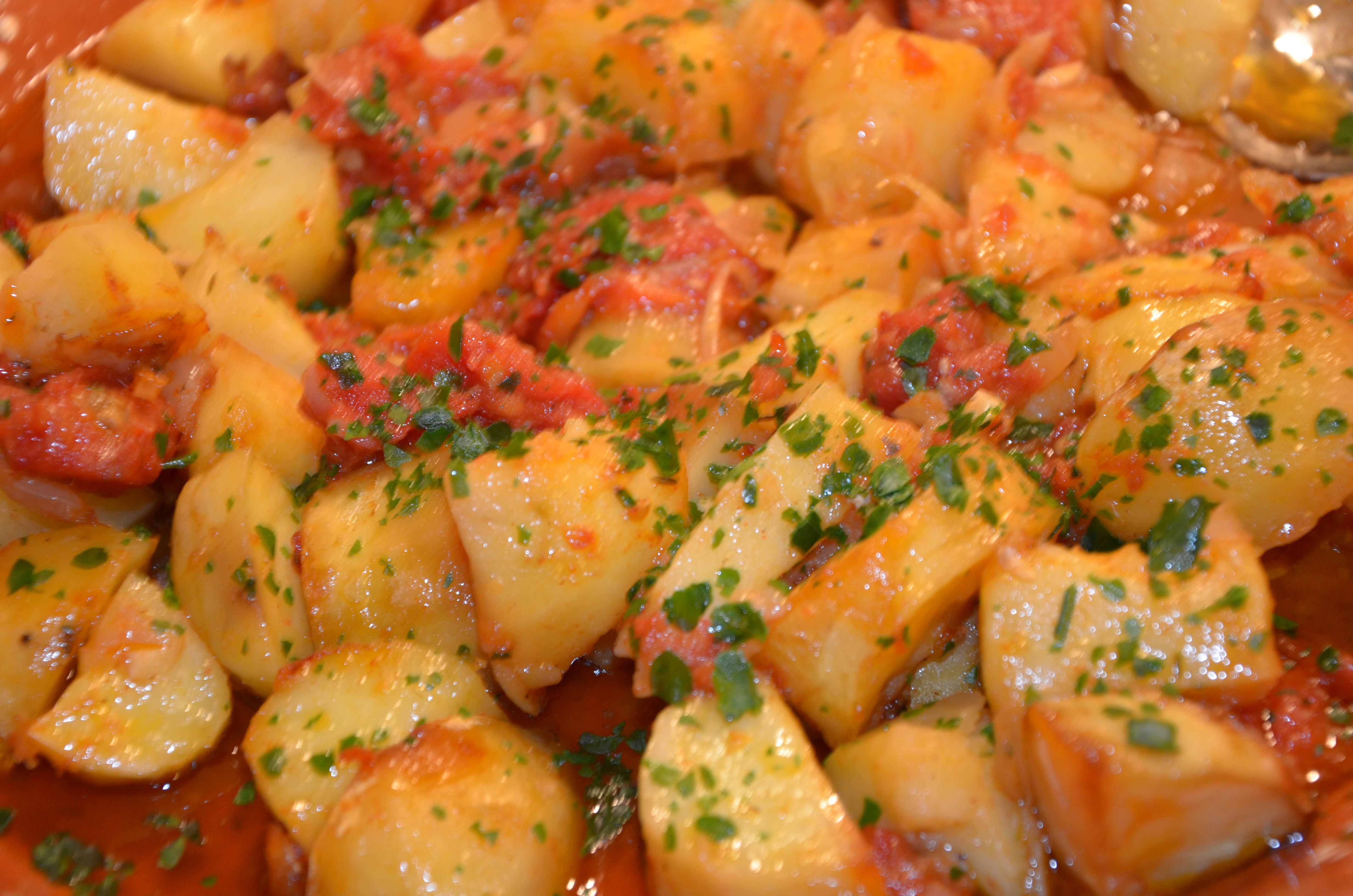 Pommes de terre la portugaise sevencuisine - Comment cuisiner la pomme de terre ...