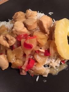 poulet à l ananas