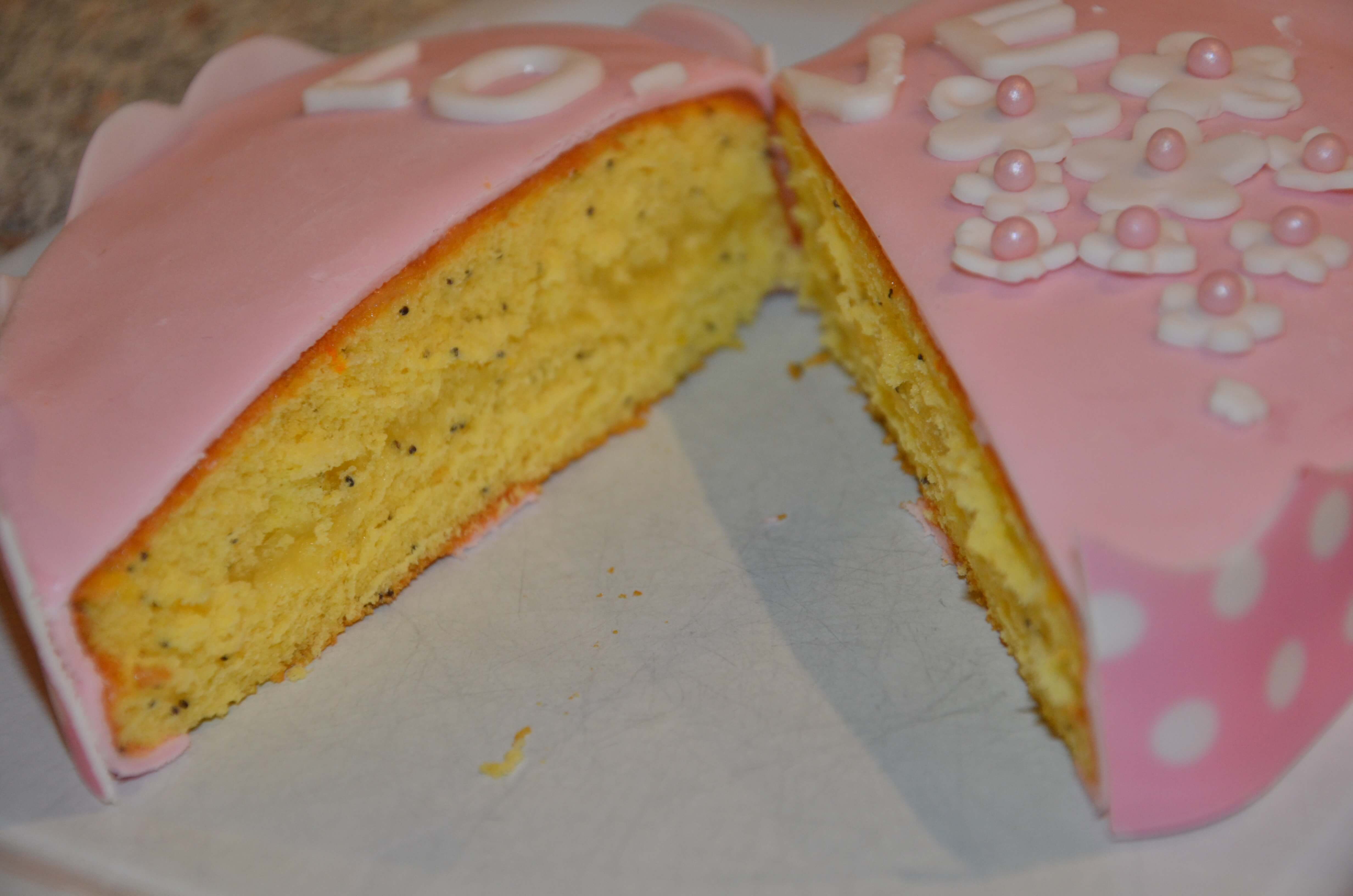 Cake Design Recette Genoise : Genoise citron et graine de pavot - SevenCuisine