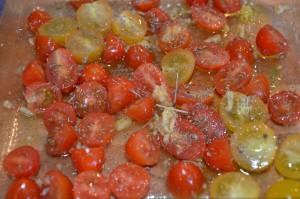 tomates roties