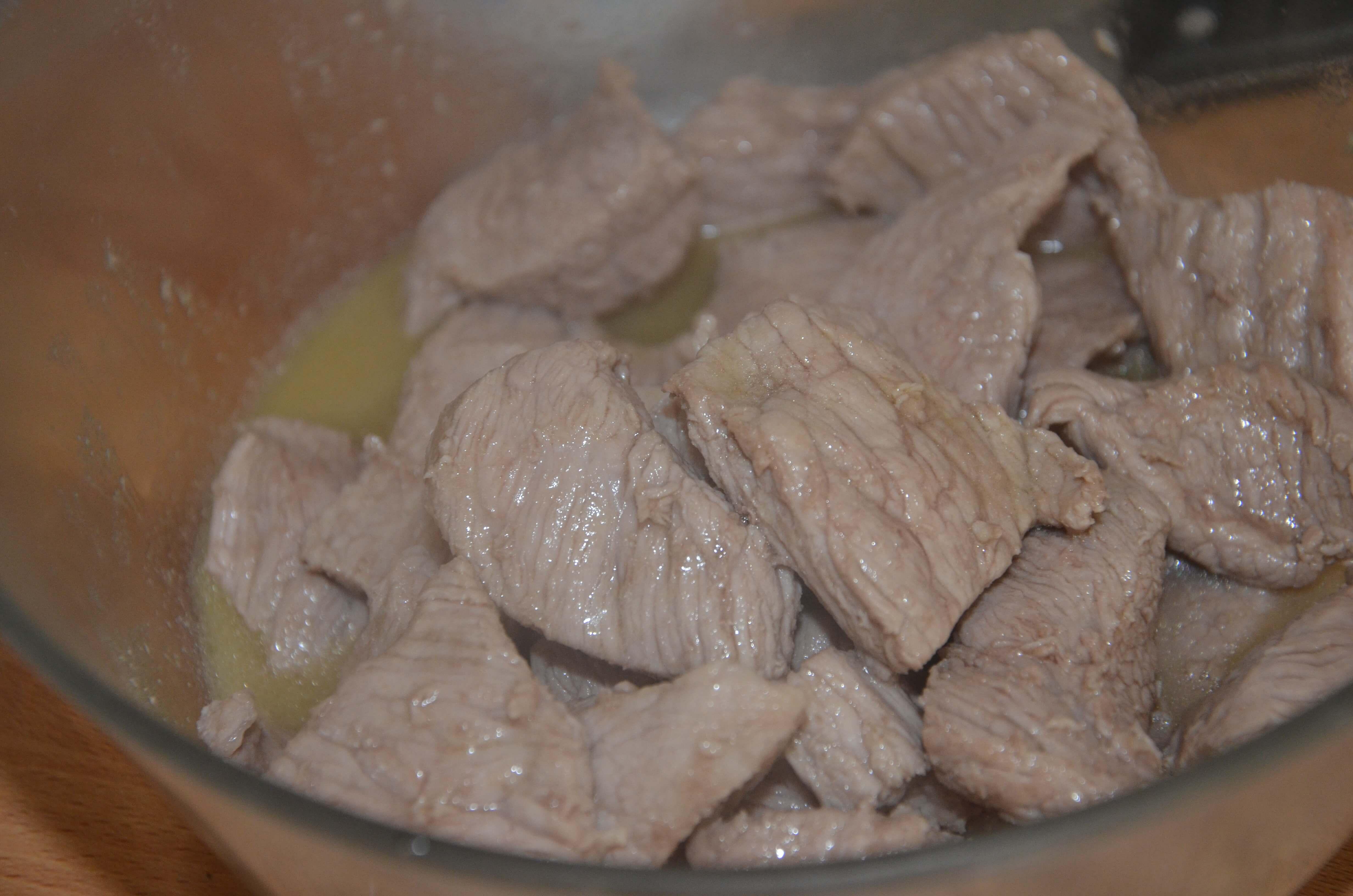 Eminc de veau aux champignons sevencuisine - Minuteur 7 minutes ...