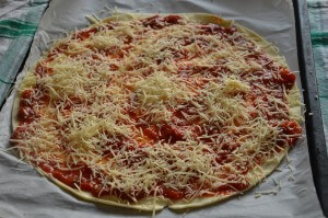 pizza sapin