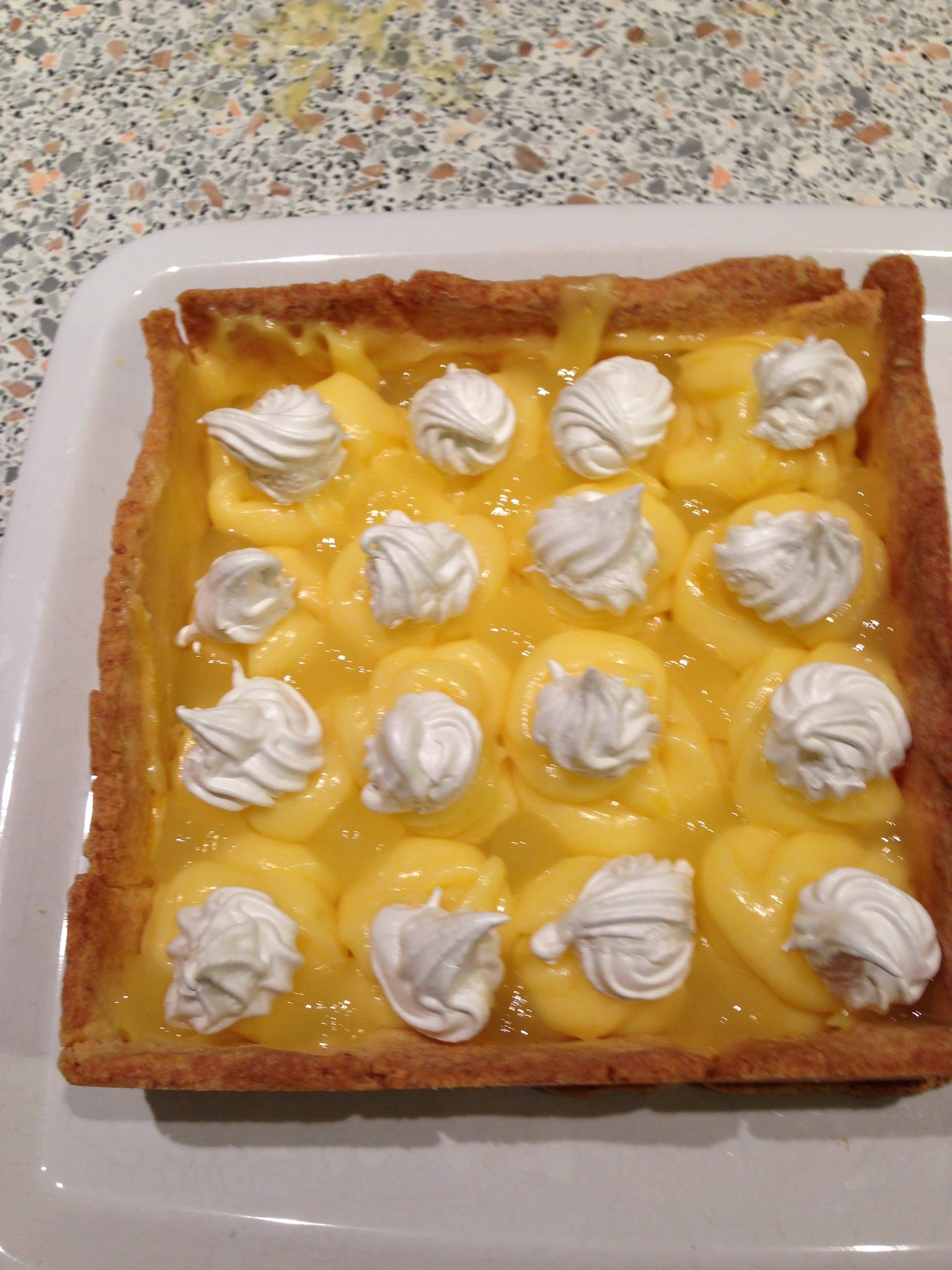 Tarte au citron meringu e cyril lignac sevencuisine - Tarte au citron meringuee herve cuisine ...