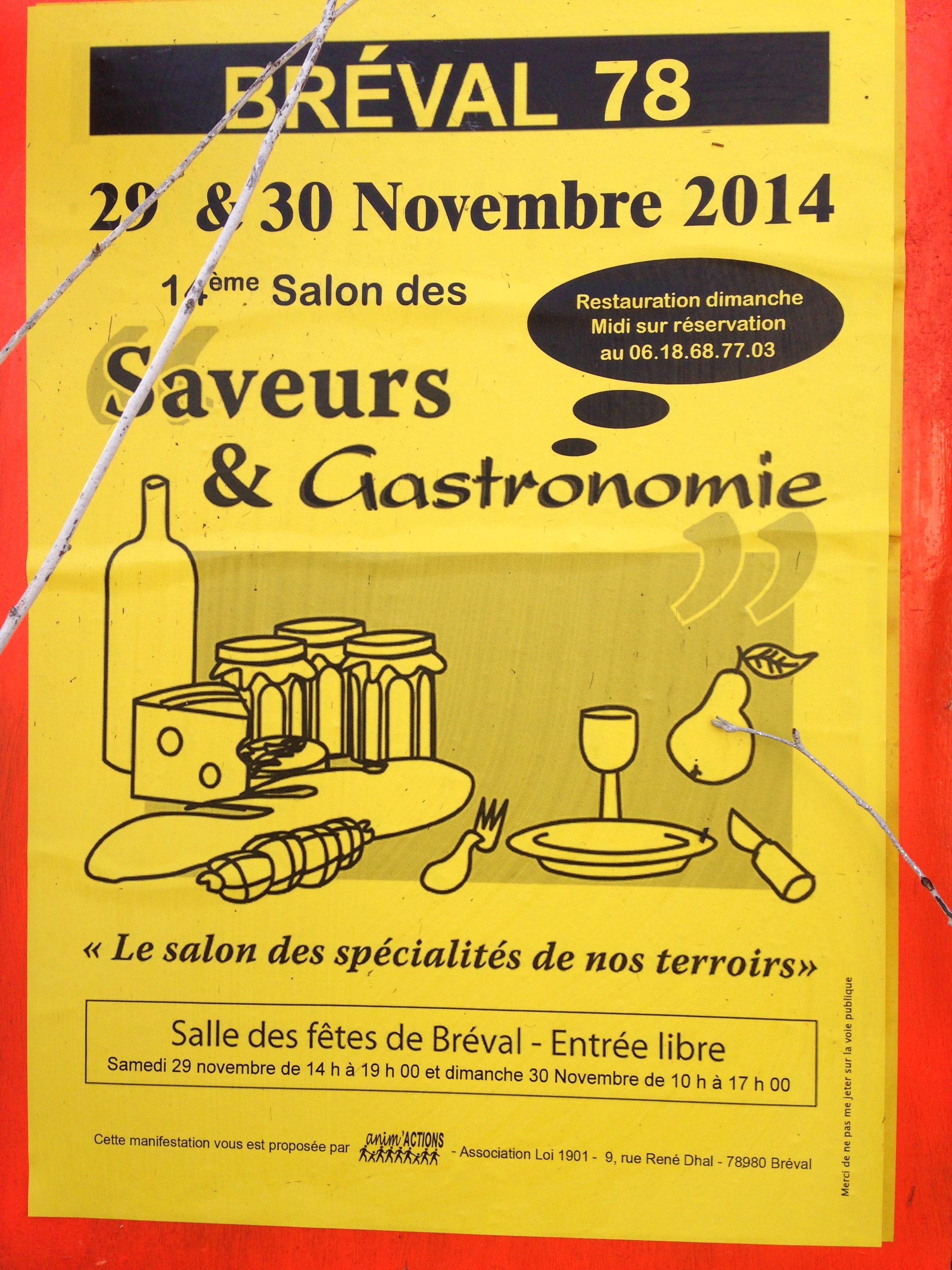 Salon des saveurs et gastronomie breval sevencuisine for Salon des saveurs