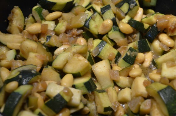 poelee courgettes